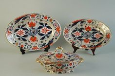 3 Pieces Pirkenhammer Porcelain, c.