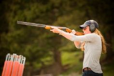 #210 Shoot Clay Pigeons.