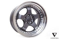 Varrstoen ES6 Wheels Gloss Graphite Machined Lip 18x9.5 +35 5x100