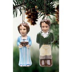 Pride & Prejudice Christmas Ornaments