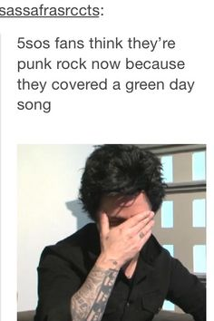 We're not punk, fam, calm down>>>um I'm pretty sure we are I mean have u seen ketchup he's pretty badass>> I know more than one green day song actually so!