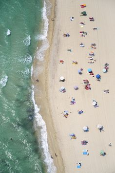 "Gray Malin - ""St. Tropez Nude Beach Vertical"" | #graymalin #maisongray"