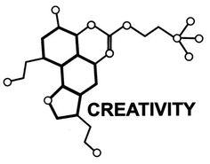 Creativity Molecule by GrayScaleXLII.deviantart.com on @deviantART