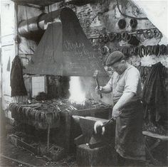 blacksmith - a necessary occupation, relying on self and community, NOT GOVERNMENT!