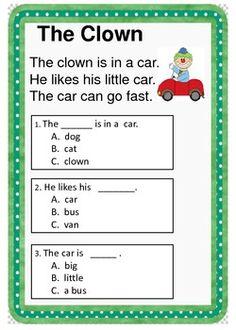 math worksheet : 1000 images about reading subject on pinterest  comprehension  : Kindergarten Reading Comprehension Worksheets Free