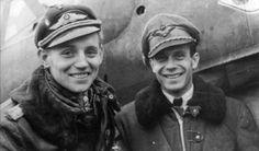 Erich Hartmann & László Pottyondy
