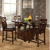 Found it at Wayfair - Sonoma 5 Piece Counter Height Dining Set