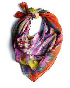 back in a splash scarf