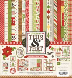 Collections | echo park paper co.  This & That Christmas