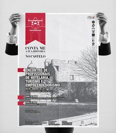 Conta-me a tua história no Castelo - Poster Design by Boutik Marketing