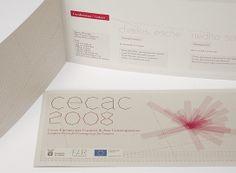 cecac / european course for contemporary art curat by jekyll & hyde , via Behance