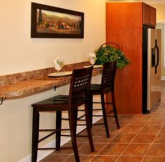 Kitchen Islands with Breakfast Bar | wall bar granite island buffet bar dining island breakfast serving