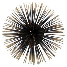 Decorative Metal Urchin Wall art-Large