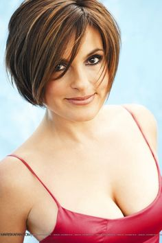 Mariska Hargitay. Law and order: svu <3