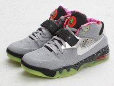 """Nike Air Force Max 180 Galaxy """"Area 72"""" Shoes. Came across these when I was following sneaker con on Instagram."""