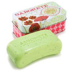 Castelbel Lemongras & Poppy Seed Peeling Soap
