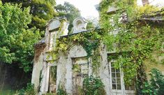 Return to Cahaignes; abandoned chateau update – Normandy Then and Now