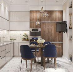 Nice eat-in apt-size kitchen