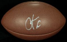 Chad Ochocinco Johnson Signed Football - PSA/DNA COA M58452