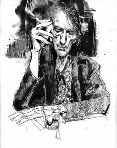 Bill Sienkiewicz: Harry Dean Stanton