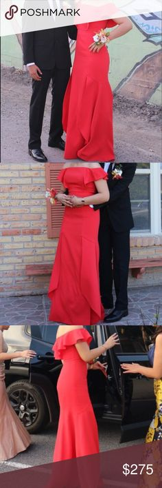 Shop Women's BCBGMaxAzria Red size 4 Prom at a discounted price at Poshmark. Description: This beautiful vibrant red dress perfect for prom. Bcbgmaxazria Dresses, Vibrant, Prom Dresses, Formal, Skirts, Red, Closet, Shopping, Beautiful