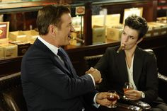 Stride of Pride  Alec Baldwin as Jack Donaghy, Amanda Bilger as Cigar Lady.