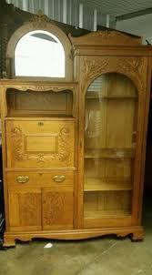 Résultats de recherche d'images pour «antique double bookcase»