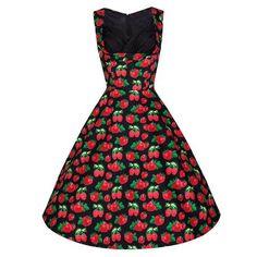 Boob Tube Top Pleated Skirt Strawberry Dress   S - Mega Save Wholesale & Retail - 1