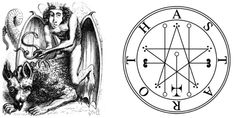 The 13 Easiest Demons To Summon - Frater Lucath Demon Symbols, Occult Symbols, Magic Symbols, Demon Spells, Dark Spells, Magick, Witchcraft, Summoning Demons, Real Magic Spells