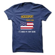 #texas... Cool T-shirts  MCKEESPORT - Its where my story begins  . (3Tshirts)  Design Description:   If you don't utterly love this Tshirt, you can SEARCH your favorite one via the usage of search bar on the header.... Check more at http://tshirttshirttshirts.com/whats-hot/best-sales-mckeesport-its-where-my-story-begins-3tshirts.html