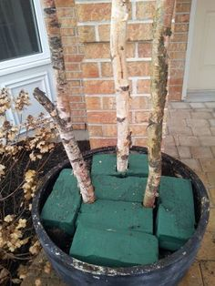 How to make your own outdoor holiday plantar.