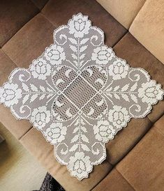 Filet Crochet Charts, Crochet Doily Patterns, Crochet Squares, Crochet Motif, Crochet Doilies, Free Crochet, Knit Crochet, Embroidery Motifs, Flower Embroidery Designs