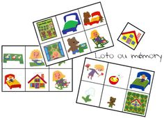 Les trois ours - Kindergarden 3 Bears, Petite Section, Nursery School, 3 D, Playing Cards, Teaching, Education, Games, Albums