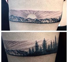 Mountain tattoo ideas!