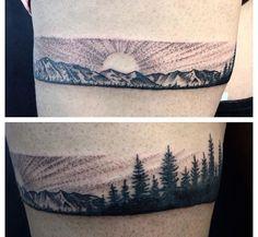 Mountain tattoo ideas!