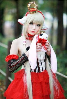 Chobits cosplay done pretty well