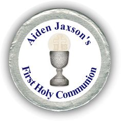 Chalice First Communion Chocolate Coins