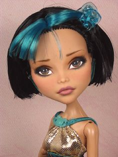Vella OOAK 1 6 Cleo Monster High Custom Repaint by Ellen Harris | eBay