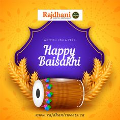 May Waheguru be with you in all your endeavours on Baisakhi and always! I wish you a very Happy Vaisakhi. May Wahe Guruji accept your good deeds bring all the years full of love and contentment. Lohri Greetings, Baisakhi Festival, Happy Baisakhi, Graphic Design Templates, Indian Festivals, Adventure Activities, Digital Marketing Services, Flat Design, Modern Design