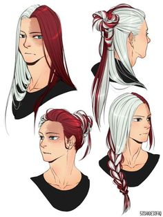 Todoroki Shouto with big hair Long Hair Drawing, Guy Drawing, Manga Drawing, Drawing Male Hair, Hero Academia Characters, Anime Characters, Character Inspiration, Character Art, Fantasy Angel