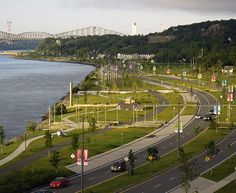 May 2020 - Bike or walk the Samuel-De Champlain Promenade, a large park on the bank of the St. Samuel De Champlain, Le Petit Champlain, Quebec Montreal, Old Quebec, Quebec City, Chute Montmorency, Chateau Frontenac, Great Walks, Belle Villa