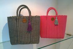 bolsas artesanales tejidas de plastico - Buscar con Google