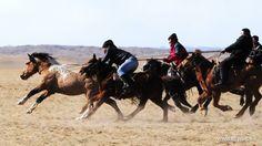 Herdsmen participate in a competition in  Bayannur, Inner Mongolia Autonomous Region, March 4, 2014