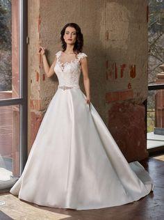 NOVABELLA 30247 - dianelegrandbridal.com Lace Wedding, Dream Wedding, Wedding Dresses, Iyengar Yoga, Boho, Formal Dresses, Fashion, Dress Wedding, Yoga For Pregnant Women