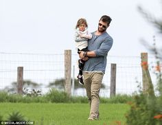 Family day out! On Saturday, Chris Hemsworth and Elsa Pataky enjoyed some quality time wit...