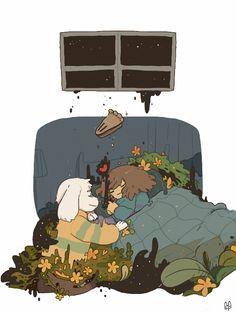 fofu — Good night, have a nice dream Frisk.