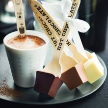 hot chocolate on a stick!