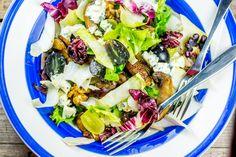 Salata de toamna cu ciuperci