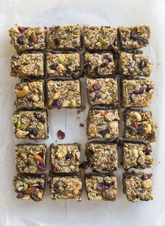 Chelsea Winter - Sharing her love for food and her own Healthy Gluten-Free Muesli Slice Recipe Healthy Snacks For Kids, Healthy Sweets, Healthy Baking, Muesli Slice, Muesli Bars, Dairy Free Recipes, Whole Food Recipes, Snack Recipes, Cafe Recipes