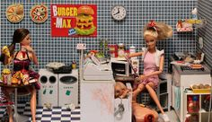 My new obsession. Ken Dies, by Mariel Clayton. Just a ton of scenes where Barbie murders ken in a different way every time. Brilliant.